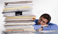 Administratieve achterstanden wegwerken